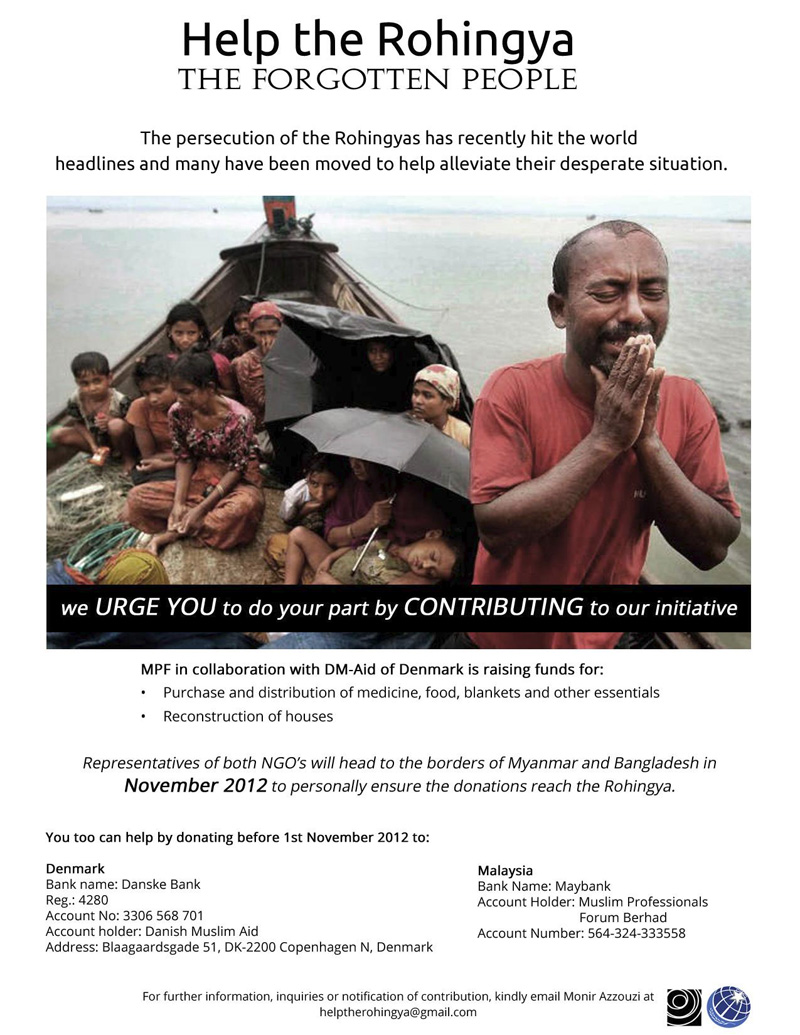 Help the Rohingya: THE FORGOTTEN PEOPLE