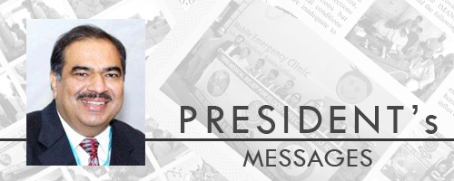 Message from the President September 2016