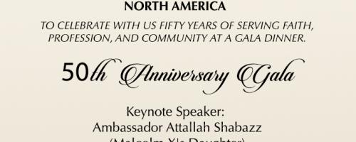 IMANA's 50th Anniversary Gala Dinner