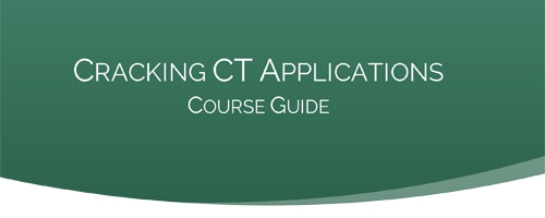 BIMA Cracking CT Applications Course Guide