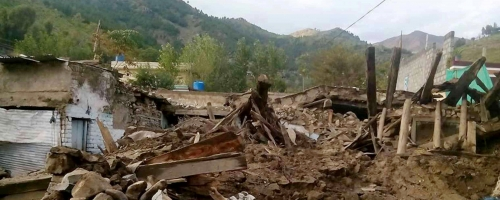 Earthquake-2015 | Situation & Relief Report by Al-Khidmat
