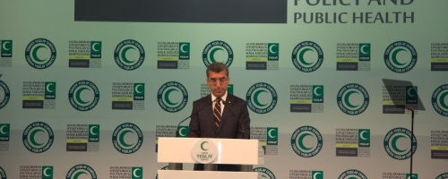 Green Crescent Turkey holds International Symposium on Drug policy and Public Health