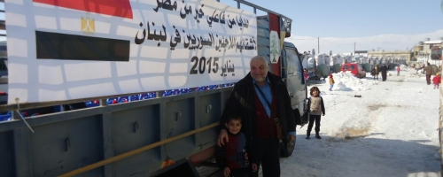 Relief Activity for Syrian Refugees in Lebanon