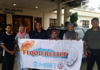 IMARET East Coast Flood Relief Aid 2014 (Official Media Statement)